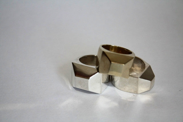 Small Facet Ring
