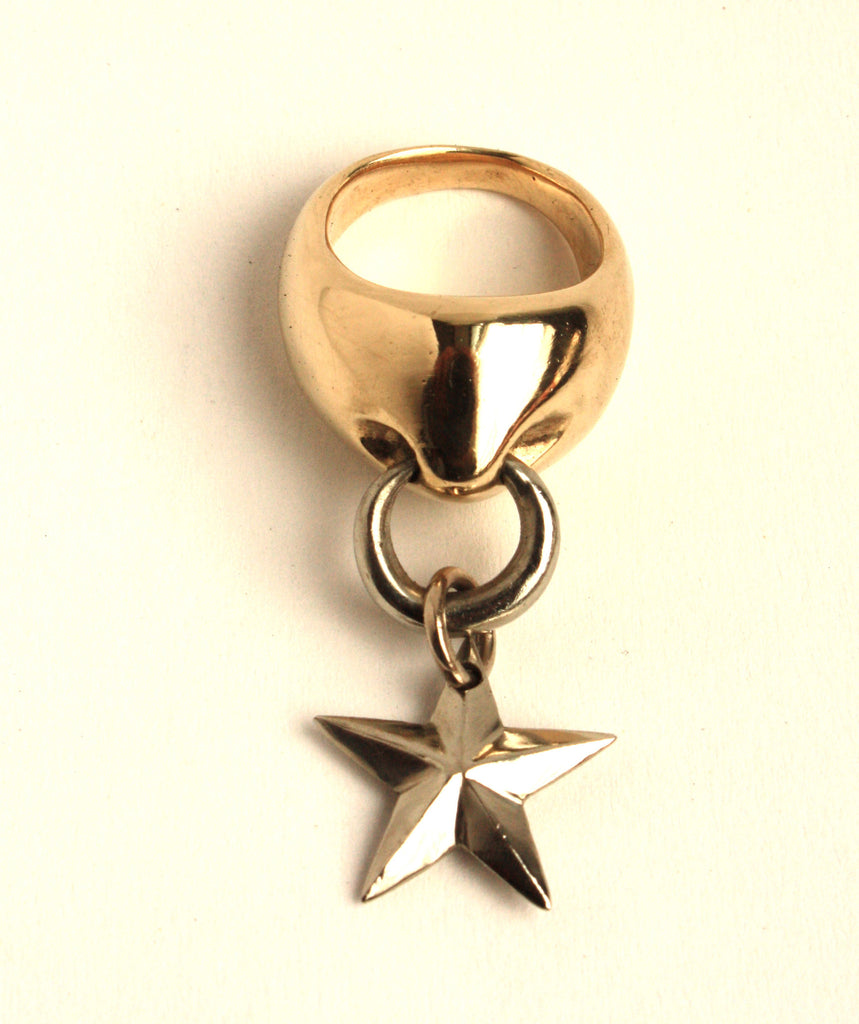 Hanging Star Ring