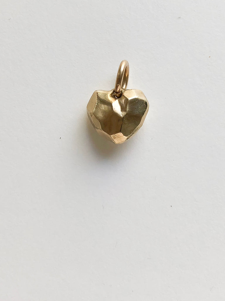 Facet Heart Pendant