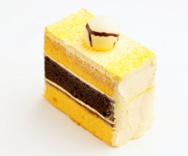 Orange Zest Chocolate Sliced Cake