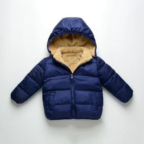 Bear parka kids