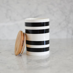 Stripe Canister