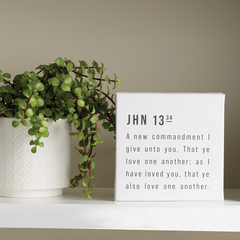 Love One Another Canvas Wrap