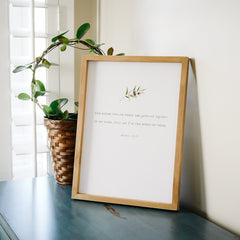 Gathered Together Quote Wall Art