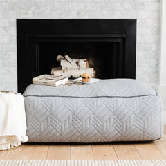 Gay Pouf Ottoman for Two