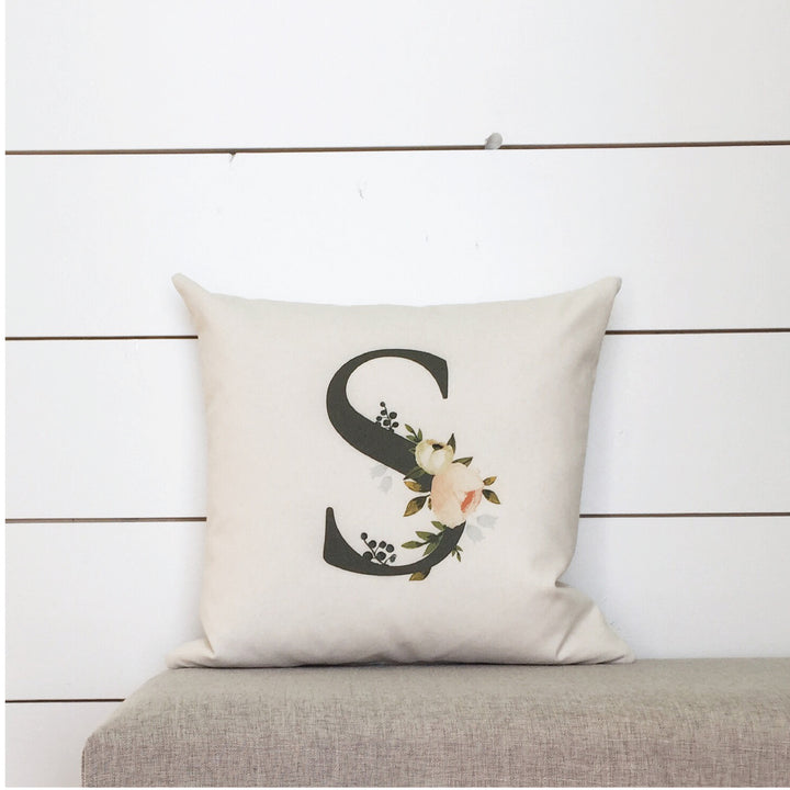 Haley Smith - Pillow - Personalized Monogram