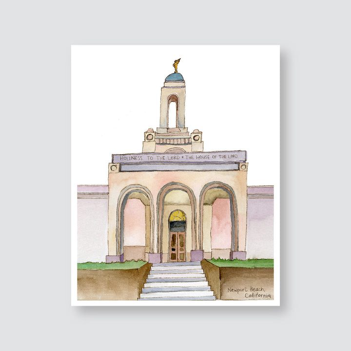 Ashley Mae Hoiland - Temple Art - California, Newport Beach