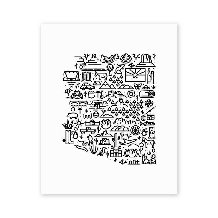 MBF - Arizona Map