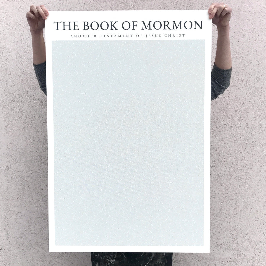 Books As Art - Book of Mormon