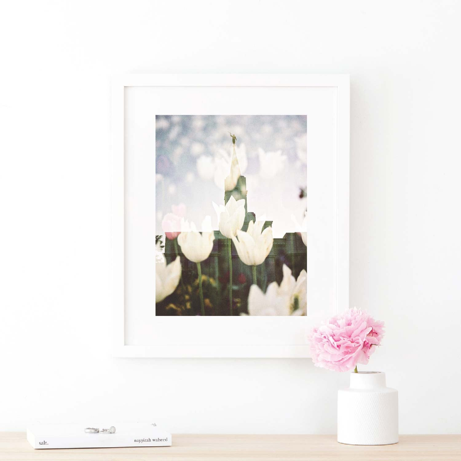 Jessica\'s Photography - Bountiful LDS Temple - White Tulips | Latter ...