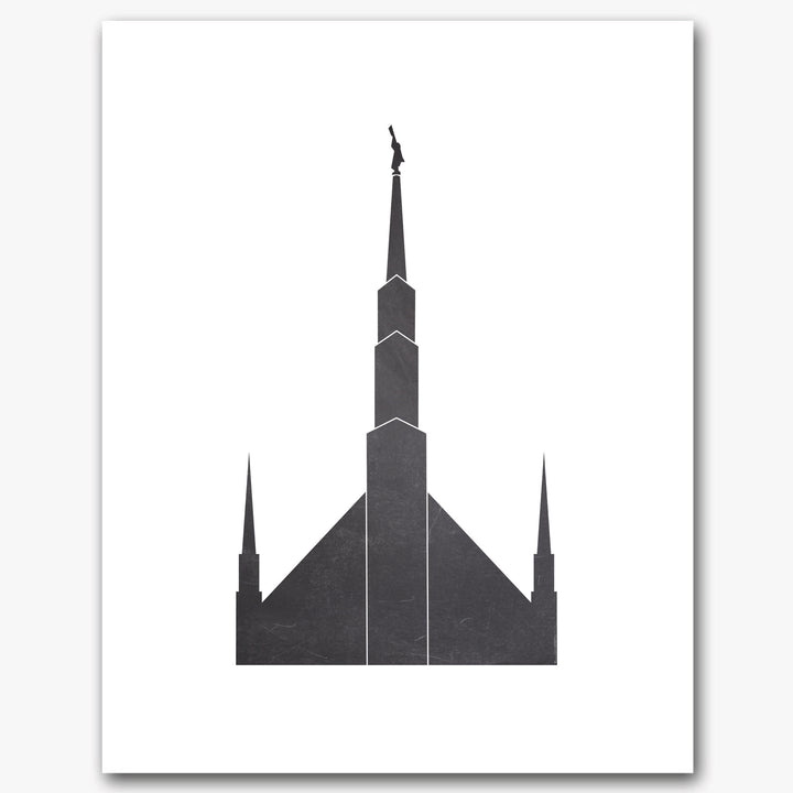 Temple Print - Chicago, IL