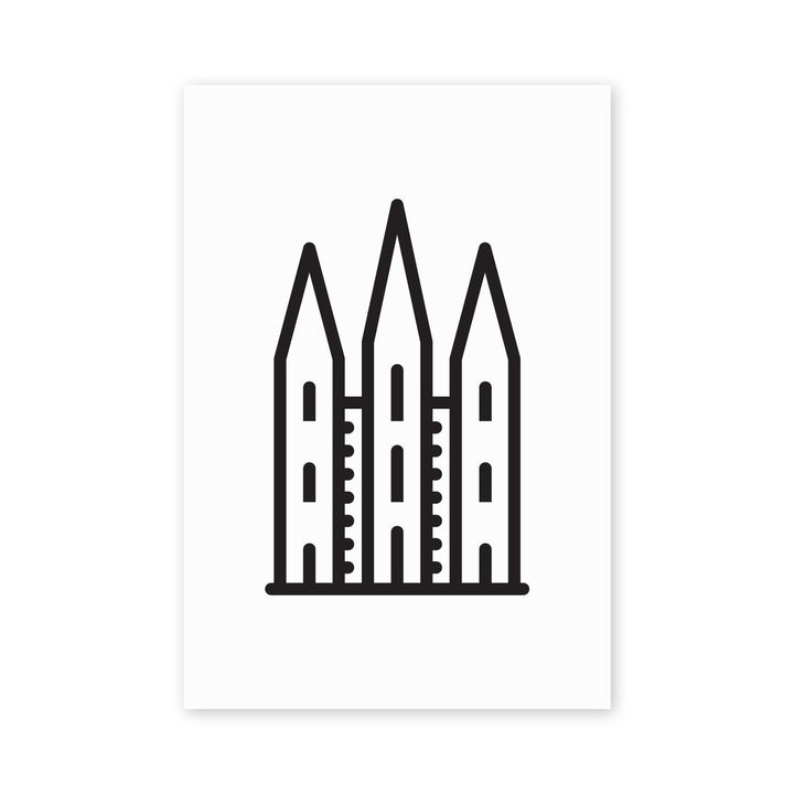 MBF - Salt Lake LDS Temple Icon