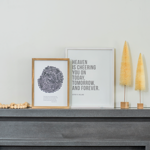 Wall Decor - Heaven is Cheering