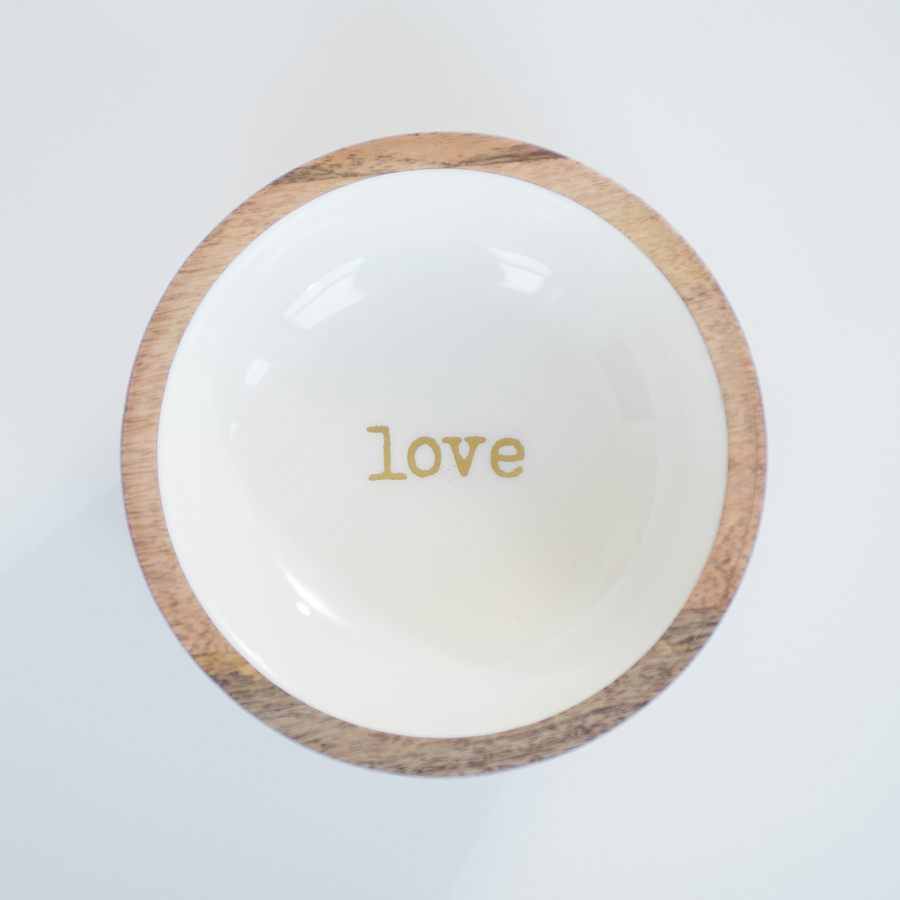 Wood Bowl Set
