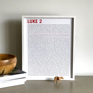 Wall Decor - Luke 2