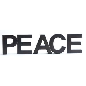 Metal Letters - PEACE
