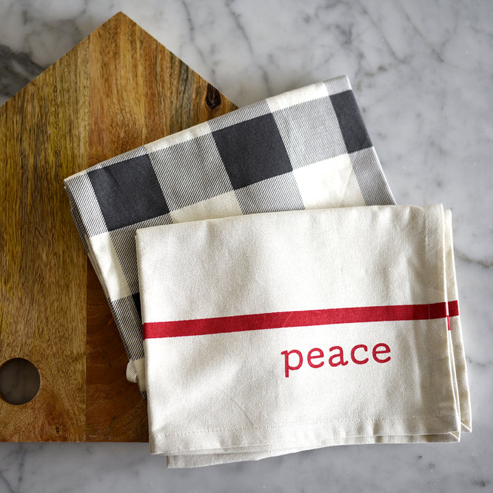 Kitchen Towel Set - Peace