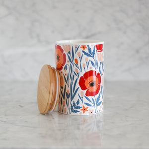 Canister - Floral