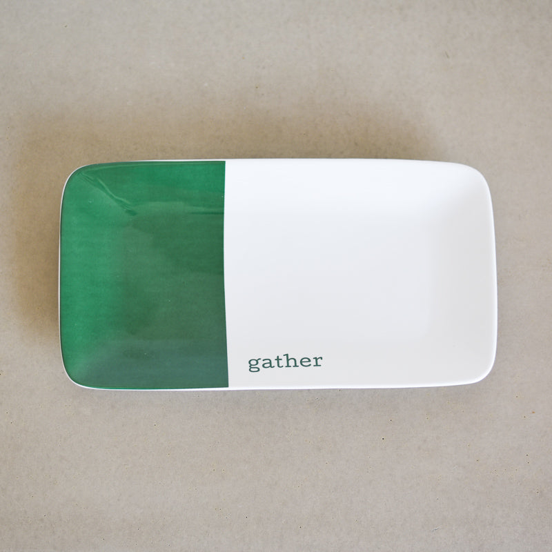 Tray - Green Gather