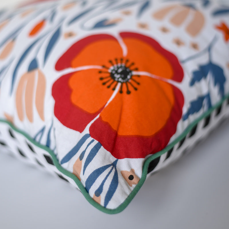 Pillow - Floral Double-Sided