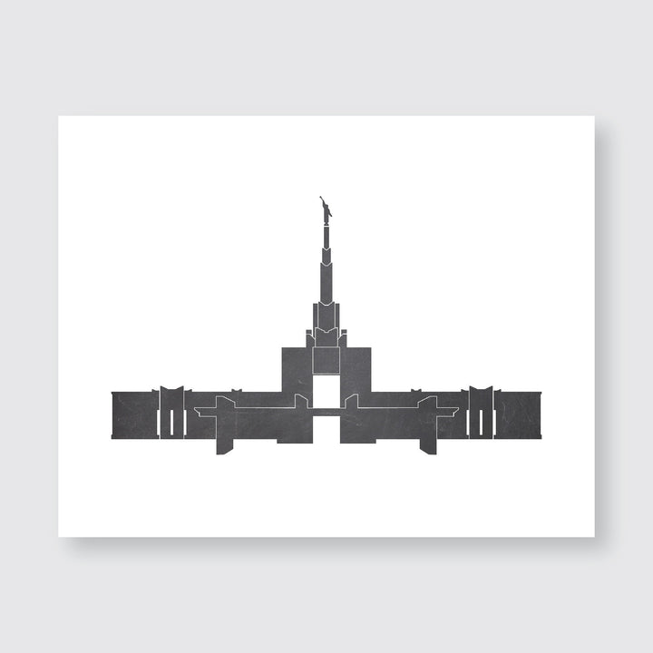 Temple Print - Denver, CO