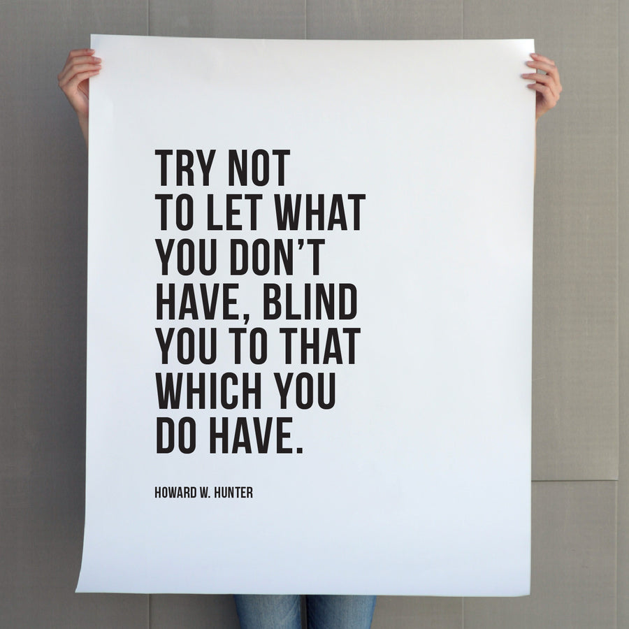 Quote - Art - Don't Be Blinded