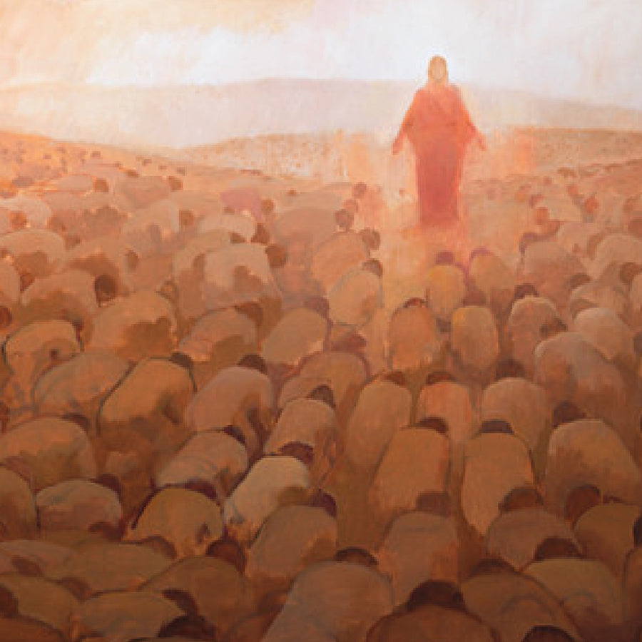 J. Kirk Richards - Art - Every Knee Shall Bow (Square)