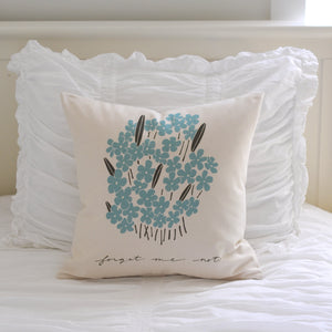 Pillow - Forget-Me-Nots