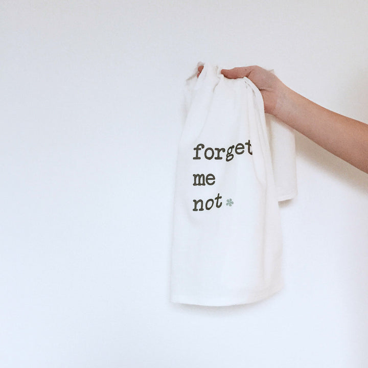 Tea Towel - Forget Me Not