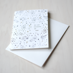 Greeting Card - We are thinking of You