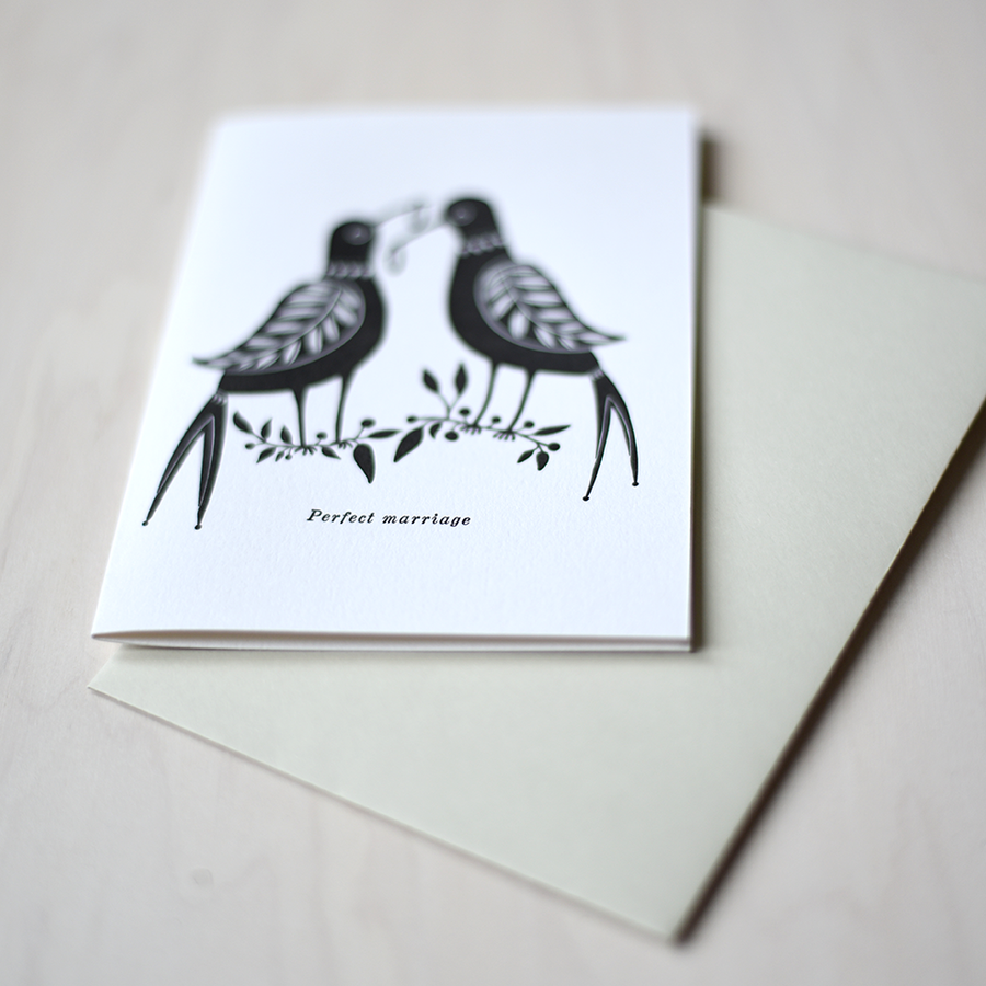 Greeting Card - Perfect Marriage
