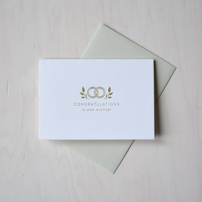 Greeting Card - Wedding Congratulations