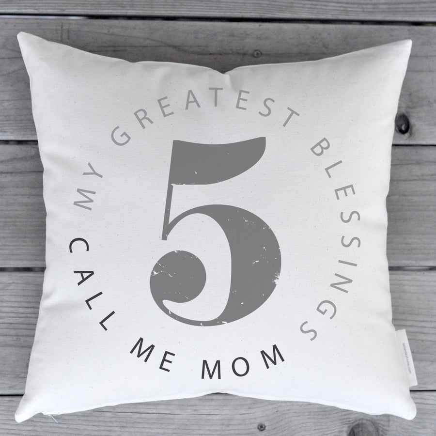 Pillow - Custom - Greatest Blessings