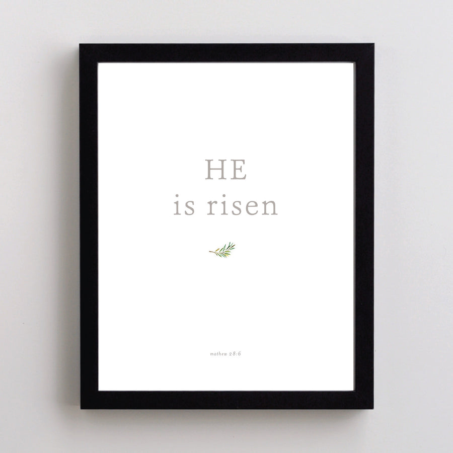 Nikkol - Art - He is Risen Olive Branch