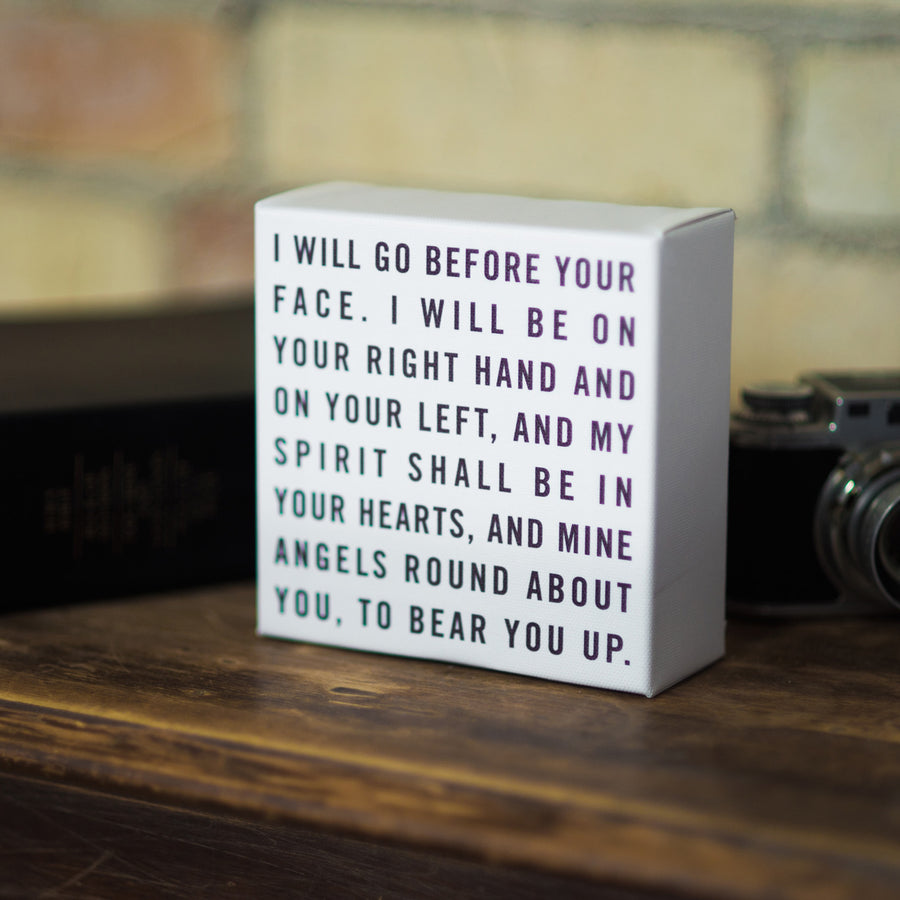 Canvas Wrap - I Will Go Before Your Face