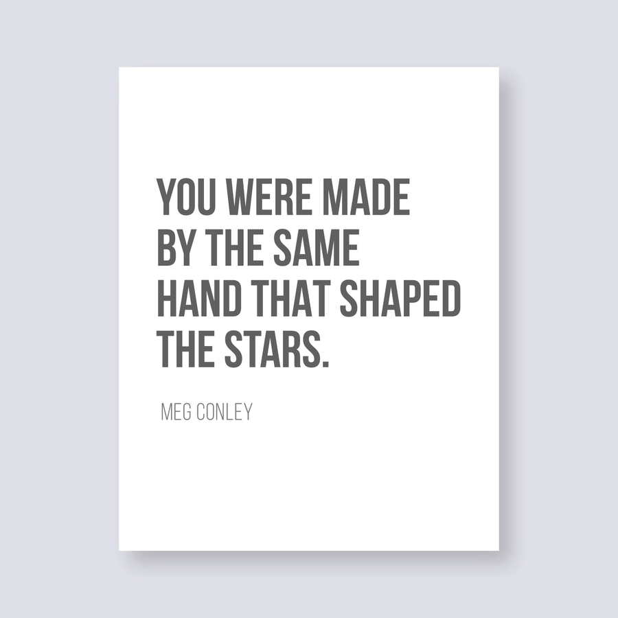 Quote - Art - Meg Conley - Stars