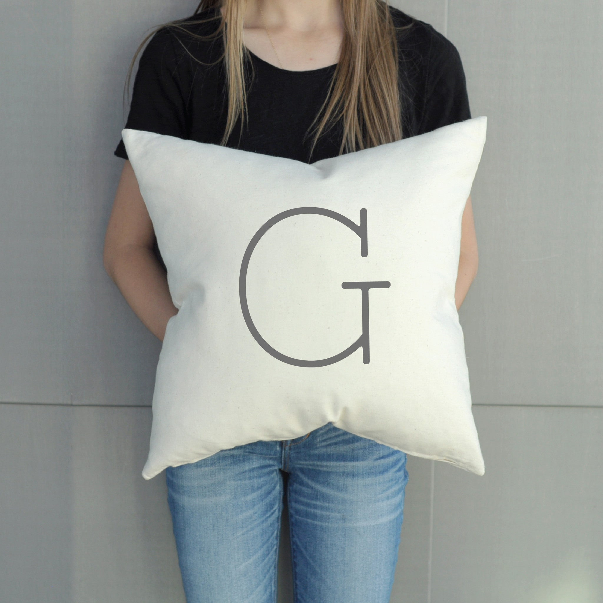 Pillow - Monogram - Modern Latter-Day Home