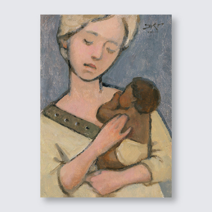 J. Kirk Richards - Art - Mother and Child (Blonde and Brown)