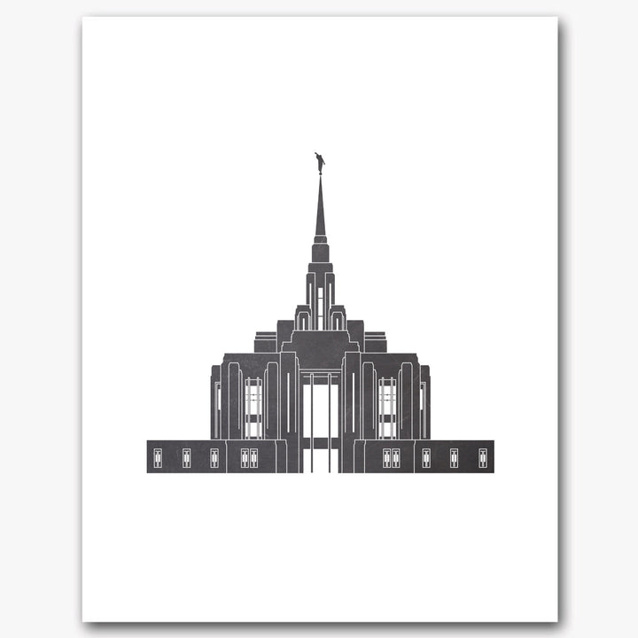 Temple Print - Newly Remodeled Ogden Temple
