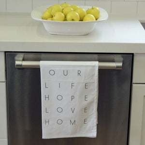 Tea Towel - Our Home