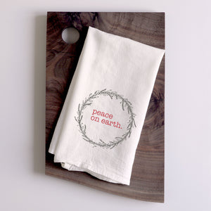 Tea Towel - Peace on Earth