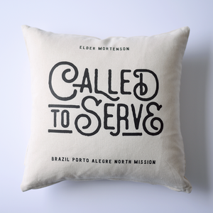 Pillow - Personalized - Missionary - Called to Serve