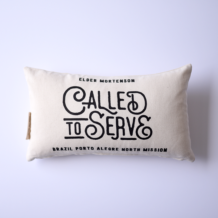 Pillow (Lumbar) - Personalized - Missionary - Called to Serve