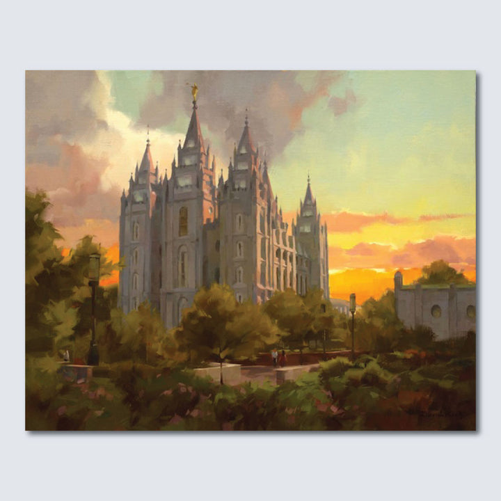 David Koch - Salt Lake Temple -  Limited Edition