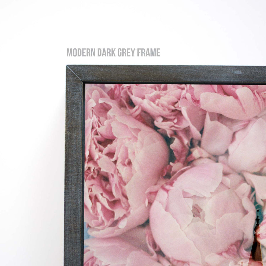 Jessica's Photography - Salt Lake LDS Temple - Dark Pink Peonies 4