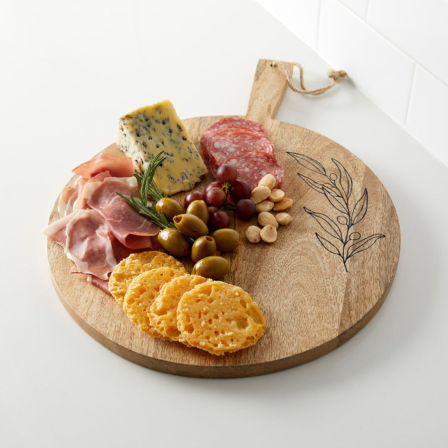 Olive Branch Charcuterie Board