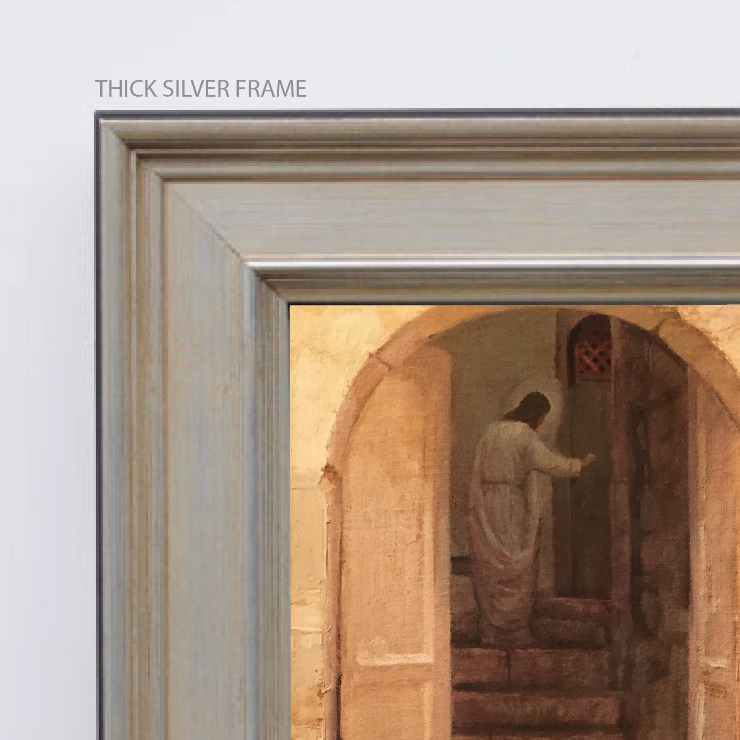 J. Kirk Richards - Art - Stand at the Door and Knock & J. Kirk Richards - Art - Stand at the Door and Knock | Latter-Day Home