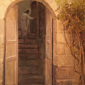 J. Kirk Richards - Art - Stand at the Door and Knock