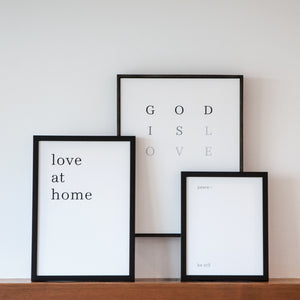 Amanda Jane Jones - Art - God Is Love