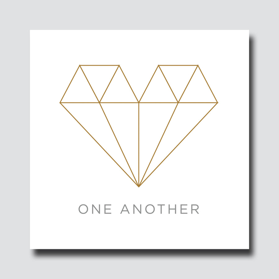 LDH Art - Diamond Heart - Love One Another